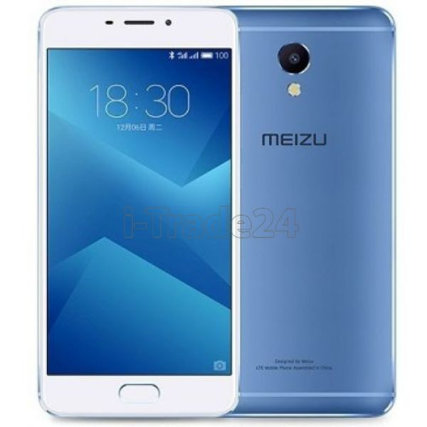 Meizu M5 Note 16Gb+3Gb Dual LTE (blue/синий)