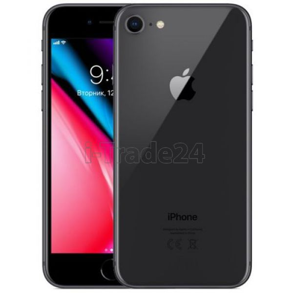 Apple iPhone 8 256GB LTE (Space Gray/Серый космос)
