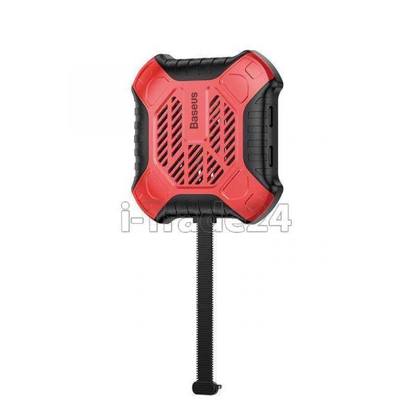 Переходник для Apple Baseus X-Men Audio Radiator Red