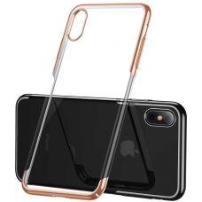 Чехол для Apple iPhone Baseus Glitter Case For iPXSm 6.5(2018) Gold