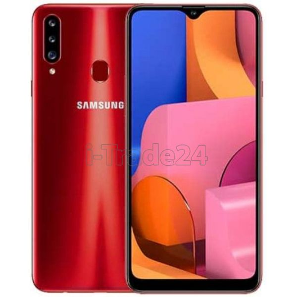 Смартфон Samsung Galaxy A20s 32GB (Red/Красный)