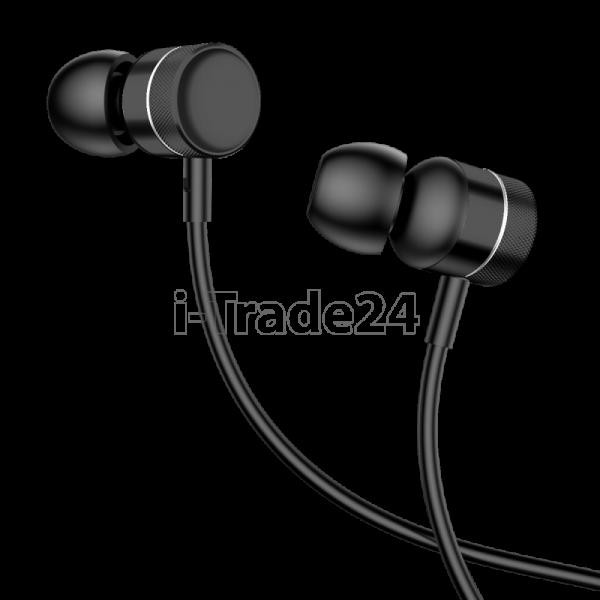 Наушники Baseus Encok Wire Earphone H04 Black/Black