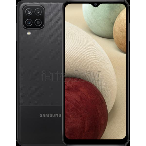 Смартфон Samsung Galaxy A12 4/64Gb Black/Черный EAC