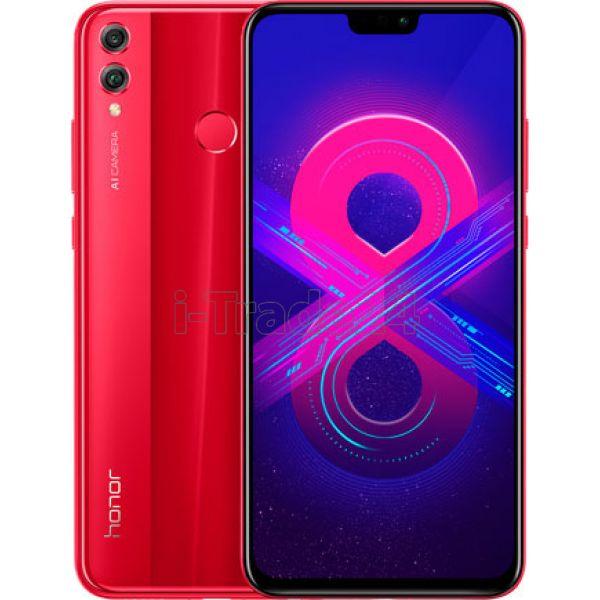 Honor 8X 4/64GB (JSN-L21) Red/Красный