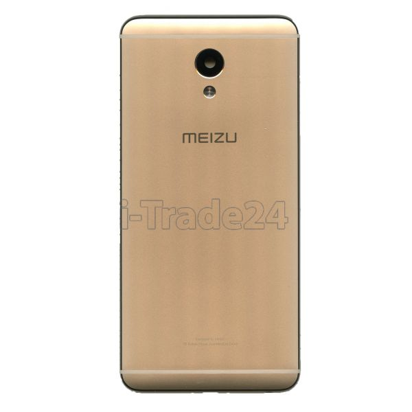 Задняя крышка для Meizu M5 Note золотая