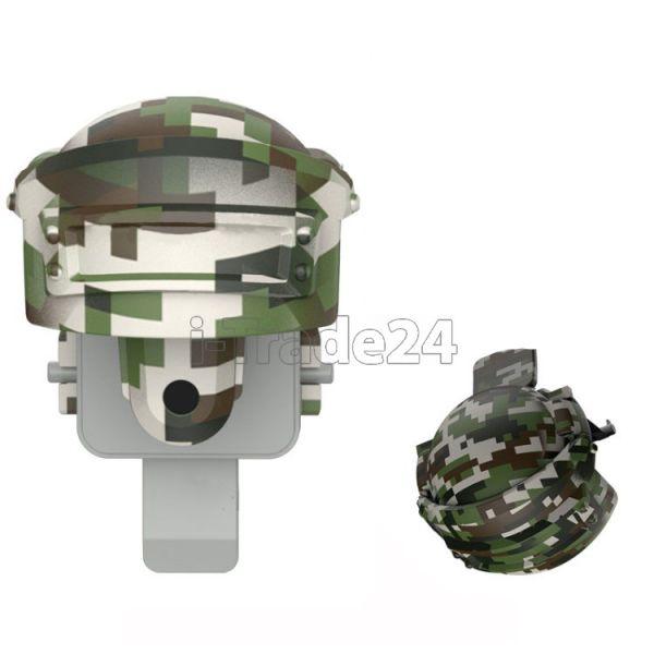Держатель игровой Baseus Level 3 Helmet PUBG Gadget GA03 Grey