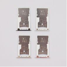 SIM лоток Xiaomi RedMi 4X серый