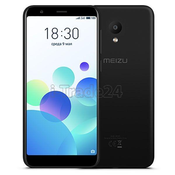 Meizu M8c 16Gb+2Gb Dual LTE (black/черный) EU Spec