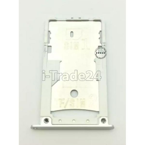 SIM лоток Xiaomi RedMi 3 Pro серебристый