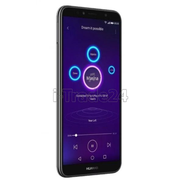 Смартфон HUAWEI Y6 Prime (2018) 16GB (Black/Черный)