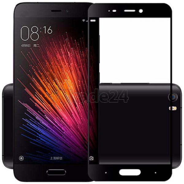 Защитное стекло полного покрытия для Xiaomi Mi5S Plus черное