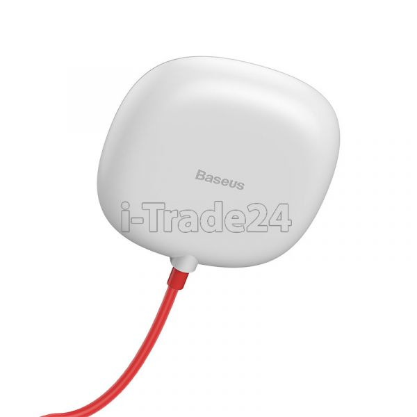 Беспроводное зарядное Baseus Suction Cup Wireless Charger White