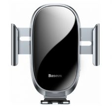 Автомобильный держатель Baseus Smart Car Mount Cell Phone Holder Silver