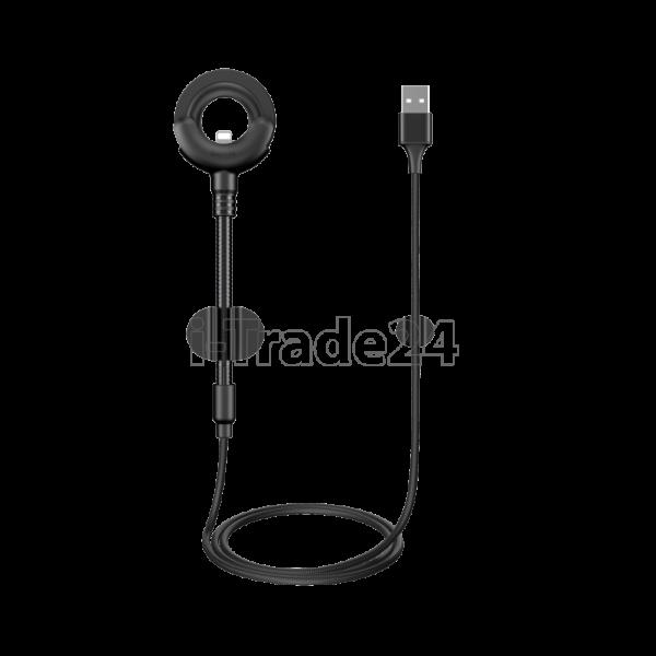 Кабель для iPod, iPhone, iPad Baseus O-type Car Mount Cable 0.8m Black