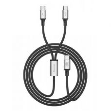 Кабель Type-C Baseus Rapid Series 2-in-1 Type-C Micro cable 1.2m Silver