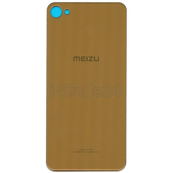 Задняя крышка для Meizu M3X золотая