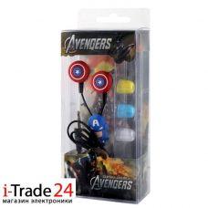Детские вакуумные наушники Avengers
