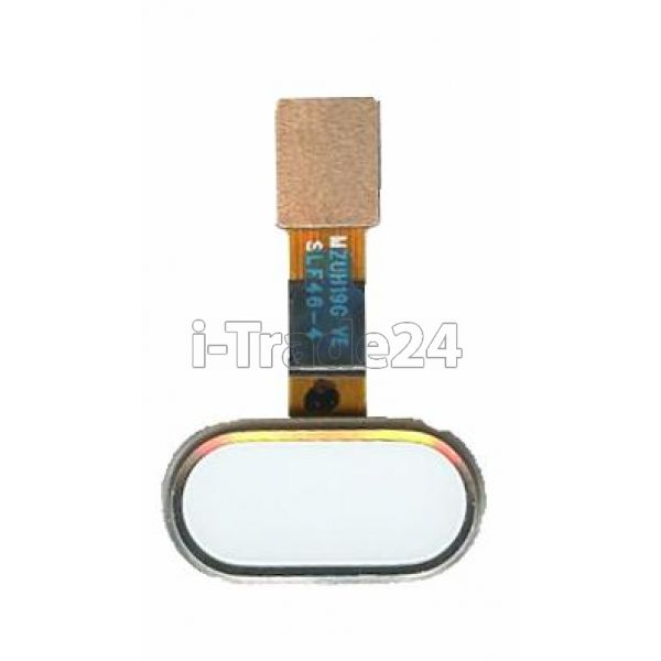 Кнопка Home Meizu M5 белая
