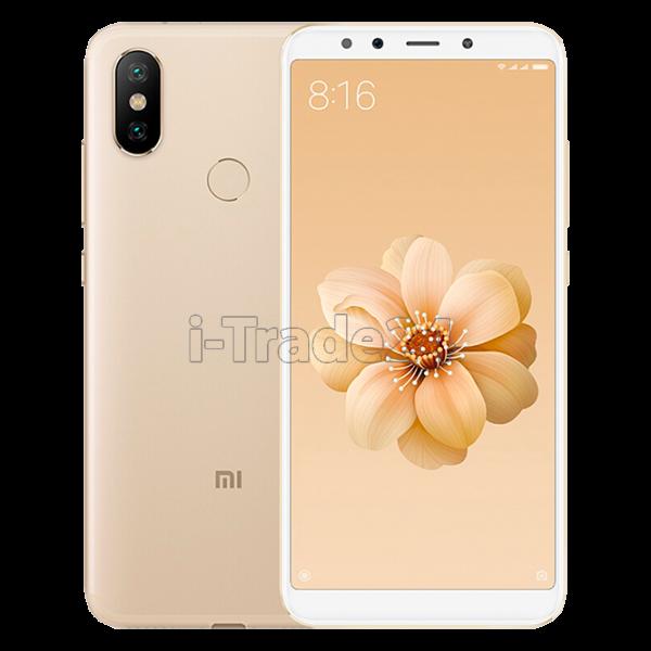 Xiaomi Mi A2 4/64GB Dual LTE (gold/золотой) Global Version