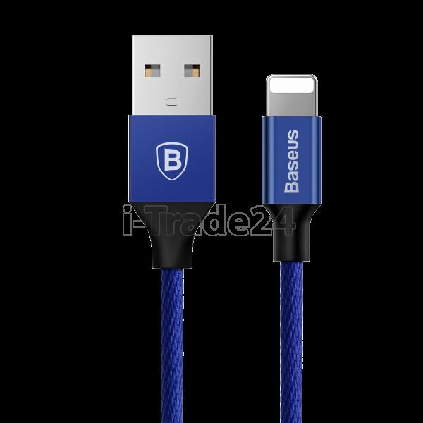 Кабель для iPod, iPhone, iPad Baseus Yiven Cable 1.2m Blue