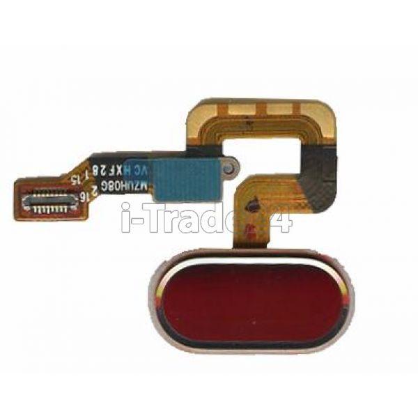Кнопка Home Meizu M3 Max золотая