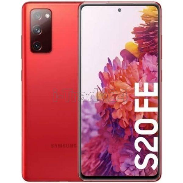 Смартфон Samsung Galaxy S20FE (Fan Edition) Красный