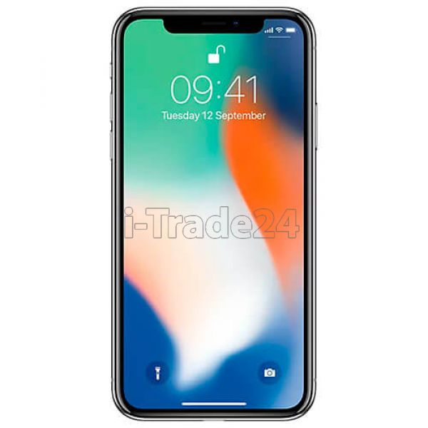 Apple iPhone X 256GB (silver/серебристый)