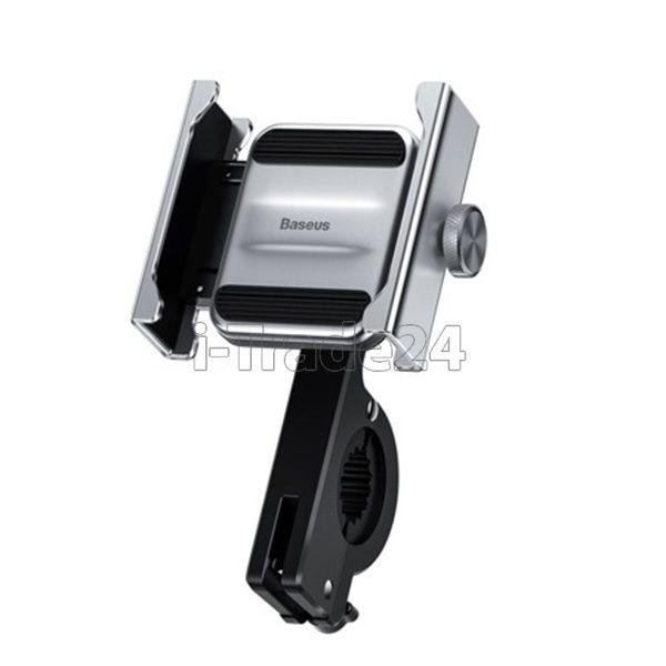Держатель для мотоцикла или велосипеда Baseus Knight Motorcycle holder(Applicable for bicycle)Silver