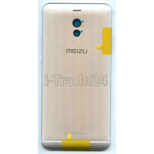 Задняя крышка для Meizu M6 Note серебро