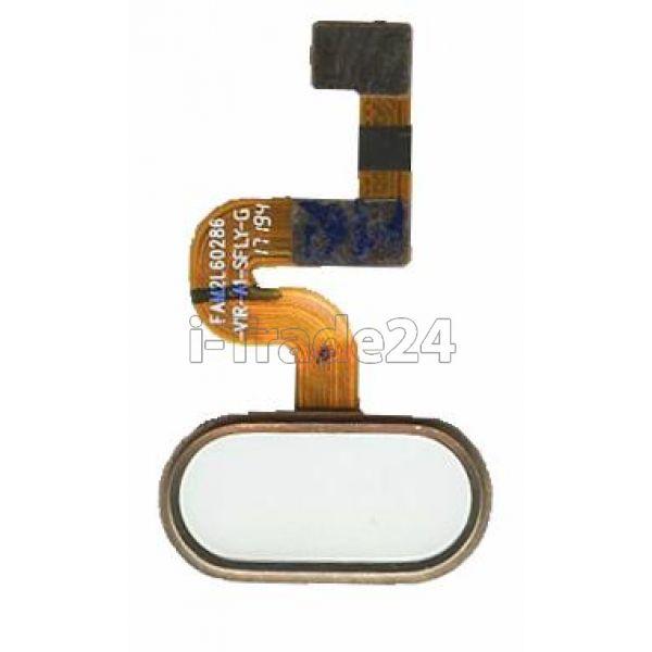 Кнопка Home Meizu E2 золотая