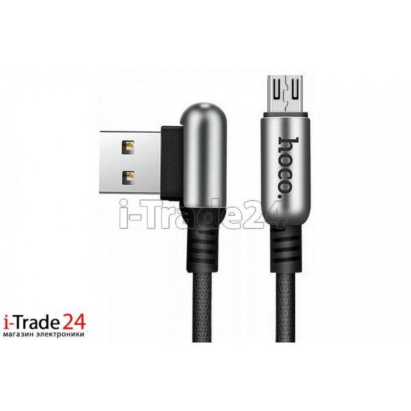 Дата-кабель Hoco U17 micro USB