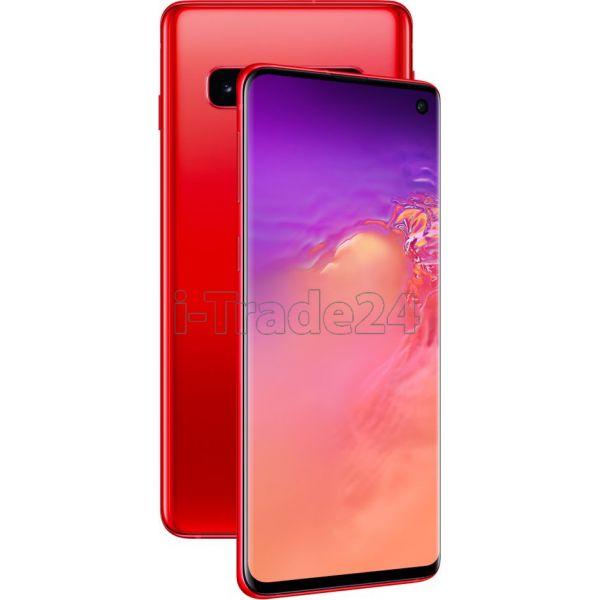 Смартфон Samsung Galaxy S10 8/128GB Красный