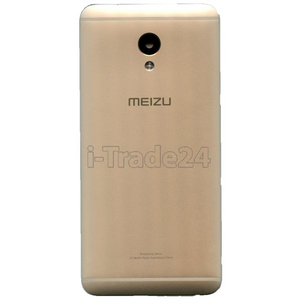 Задняя крышка для Meizu M3E золотая