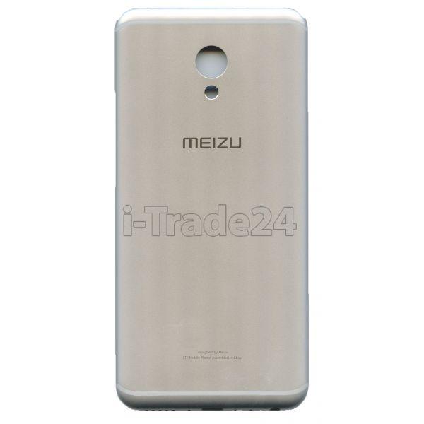 Задняя крышка для Meizu MX6 серебро
