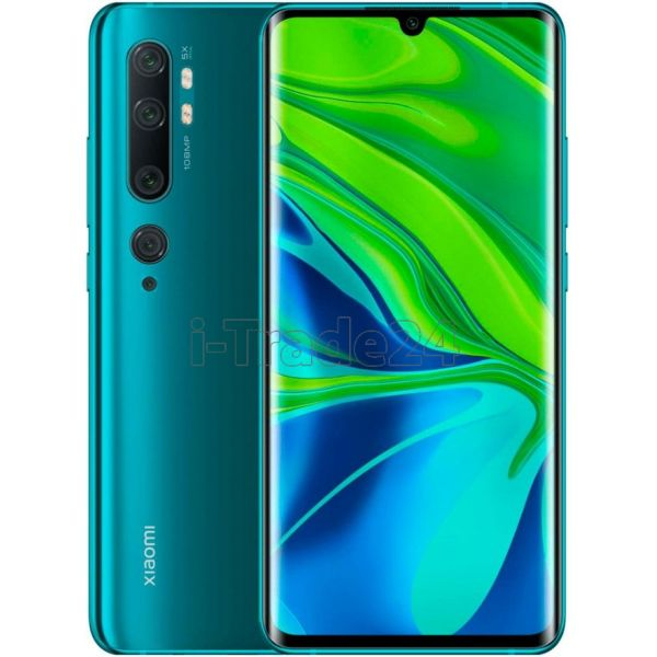 Смартфон Xiaomi Mi Note 10 6/128GB Green(Зеленый) EU