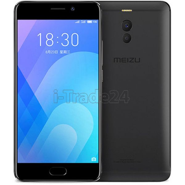 Meizu M6 Note 64Gb+4Gb M721H Dual LTE (black\черный) EU Spec