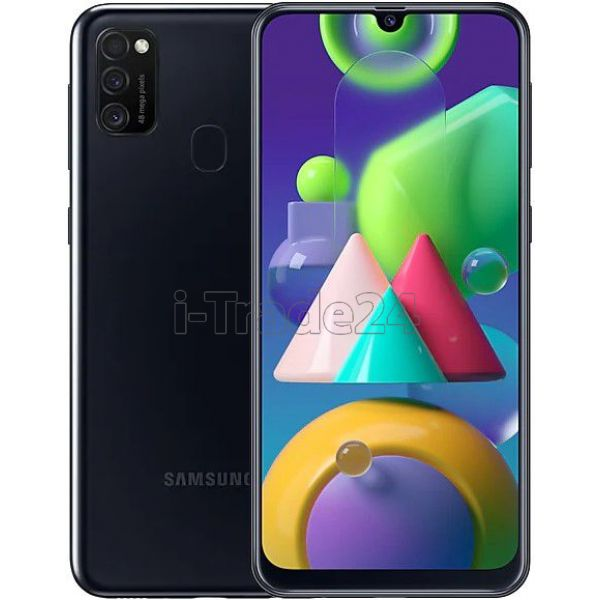 Смартфон Samsung Galaxy M21 (Black/Черный)