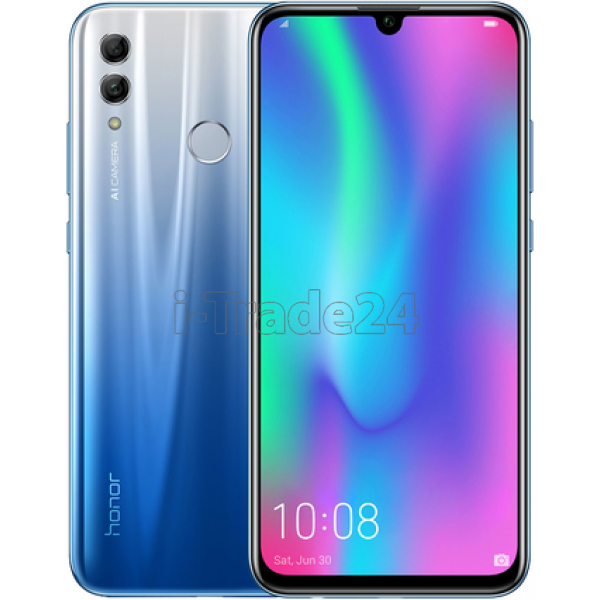 Смартфон Honor 10 Lite 3/32GB Dual LTE (sky blue/голубой)