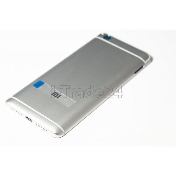 Задняя крышка Xiaomi Mi5s серебристая