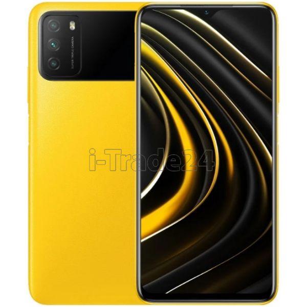 Смартфон Xiaomi Poco M3 4/64GB Yellow/Желтый Global Version