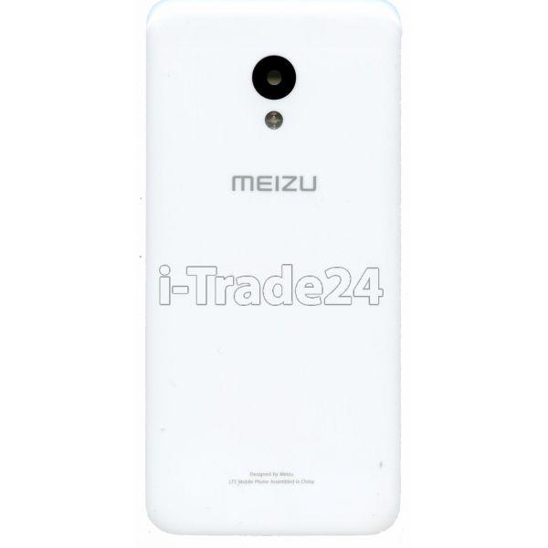 Задняя крышка для Meizu M5 белая