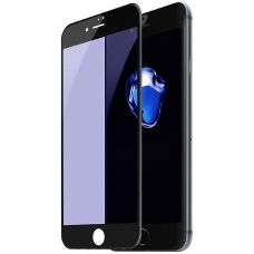Защитное стекло Baseus 0.23mm Anti-break edge All-screen Arc-surface Anti-bluelight Tempered Glass Film For iP7/iP8 Black