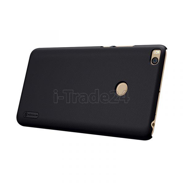 Чехол-накладка Nillkin Frosted Shield для Xiaomi Mi Max 2 (black/черный)