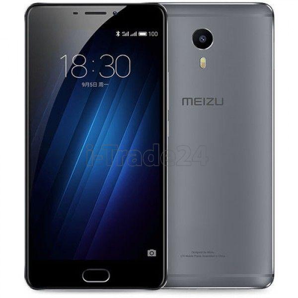 Meizu M3 Max 64Gb+3Gb Dual LTE (black/черный)