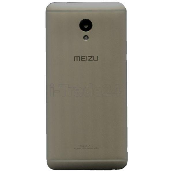 Задняя крышка для Meizu M3E серая