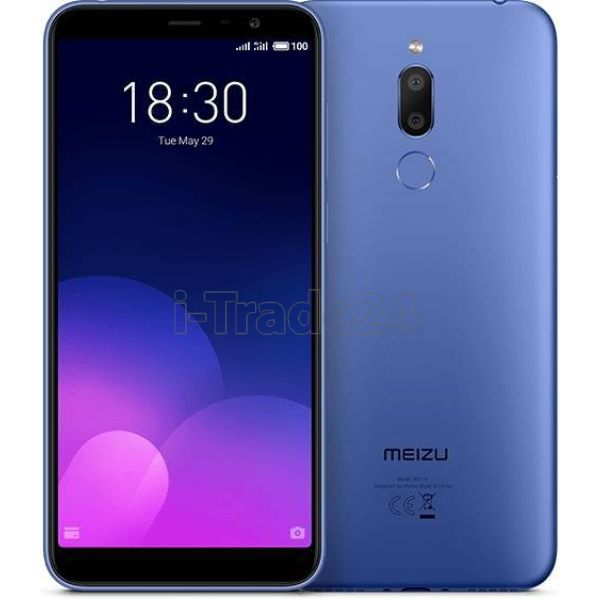 Meizu M6T 16Gb+2Gb Dual LTE (blue/синий) EU Spec