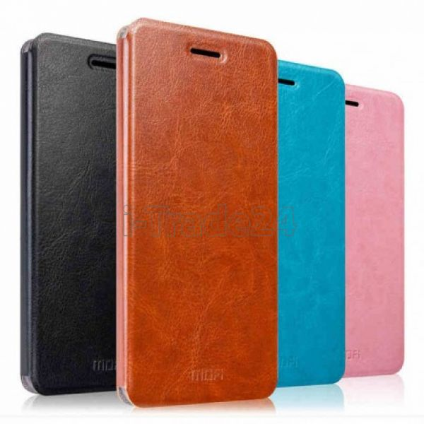 Чехол-книжка MOFI для Xiaomi Redmi Note 4 (pink/розовый)