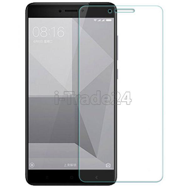 Защитное стекло для Xiaomi RedMi Note 4X прозрачное