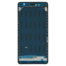 Рамка дисплея(средняя часть) Xiaomi Mi5S Plus черная