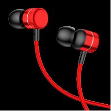 Наушники Baseus Encok Wire Earphone H04 Red/Black